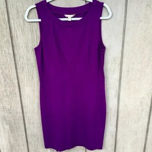 ✨Banana Republic Purple Dress Size 10